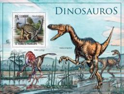 S. TOME & PRINCIPE 2010 - Dinosaurs S/s - YT 557, Mi 4549/BL.780 - Sao Tome And Principe