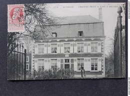 CP -( 1 )Carte Postale Ancienne - AUVELAIS CHATEAU PETIT A PONT BIESMES - Belgique