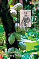 S. TOME & PRINCIPE 2010 - Cycle Of Cocoa (S/S 2) S/s - YT 586, Mi 4741/BL.809 - Sao Tome And Principe