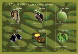 S. TOME & PRINCIPE 2010 - Culinary Of Sao Tome & Principe 6v - YT 3774-3779, Mi 4717-4722 - Sao Tome And Principe