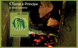 S. TOME & PRINCIPE 2010 - Culinary Of Sao Tome & Principe (S/S1) S/s - YT 588, Mi 4723/BL.803 - Sao Tome And Principe