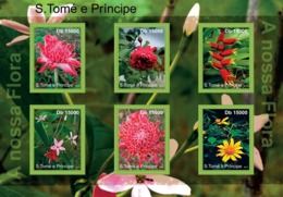 S. TOME & PRINCIPE 2010 - Flora Of Sao Tome & Principe 6v - YT 3792-3797, Mi 4793-4798 - Sao Tome And Principe