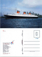 "Ship Postcards - Passenger   Ship  ""Normandie  "" Variant   Read Description - Non Classificati"