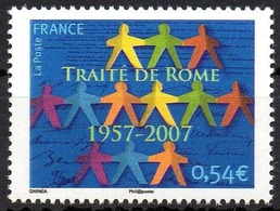 FRANCE 2007 - 1v - MNH - 50 Ans Du Traité De Rome - Rome Treaty - European Union - Europe - Trattato Di Roma - Italy - Sonstige