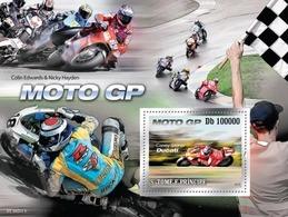 Sao Tome & Principe 2010. [st10211] Racing-motorcycles (s\s+bl) - Moto