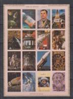 F20. Umm Al Qiwain - MNH - Space - Spaceships - Astronauts - Imperf - Autres