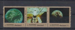 I20. Manama - MNH - Space - Spaceships - Moon - Autres
