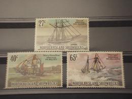NORFOLK - 1982 VELIERI 3 VALORI - NUOVI(++) - Isola Norfolk