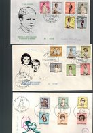 Luxembourg 3 FDC 1961,1962 Et 1968 - FDC