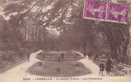 Lamballe, Le Jardin Public, Les Parterres (pk61108) - Lamballe