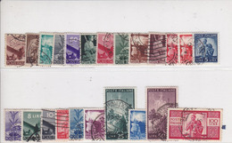 1945/48 Serie Democratica Usata - Oblitérés