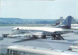 SABENA - Belgian World Airlines CARAVELLE VI N  OO-SRF Avion Aviation Aiplane - 1946-....: Era Moderna