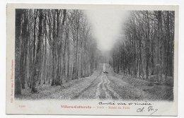 (RECTO / VERSO) VILLERS COTTERETS EN 1904 - N° 1320 - FORET - ROUTE DU FAIT - CPA  PRECURSEUR VOYAGEE - Villers Cotterets
