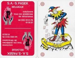 Cartes à Jouer. S.A. Passe. Deux Jokers. Haut-le-Wastia - Anhée - Cartes à Jouer Classiques