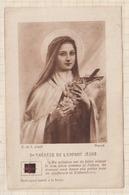 9AL1845 STE THERESE DE L'ENFANT JESUS RELIQUE 2 SCANS - Santini