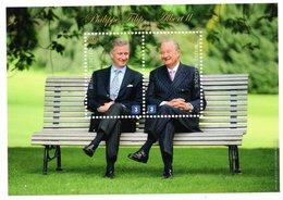 Belgium België Belgique 2013 R MNH Block Royalty Royal Koningshuis King Albert II Prince Philippe Filip - Royalties, Royals