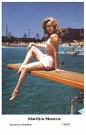 MARILYN MONROE - Film Star Pin Up PHOTO POSTCARD- Publisher Swiftsure 2000 (C33/93) - Berühmt Frauen