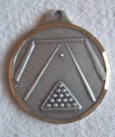 Médaille  Sport BILLARD - Non Classés