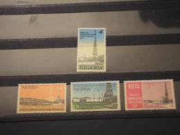 NIGERIA - 1971 SPAZIO 4 VALORI  - NUOVI(++) - Nigeria (1961-...)