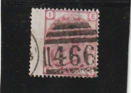 ANGLETERRE -  1880 / 1891 - 3 D Rose N° 51 --- Côte 50€ - 1840-1901 (Viktoria)