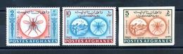 1964 AFGHANISTAN SET MNH ** PA 52R/52T - Afghanistan
