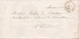 France, Faire-part De Mariage, Beau Cachet De VARENNE-EN-ARGONNE (Meuse) - Poststempel (Briefe)