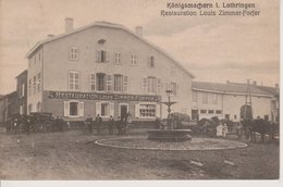 57 - KOENIGSMACKER - RESTAURANT LOUIS ZIMMER-FORFER - Francia
