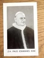 Z.H. Paus Johannes XXIII, Angelo Giuseppe Roncalli, Ter Herinnering Aan De Pauskeuze - Devotieprenten