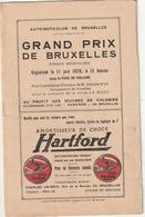 Bruxelles - Parc De Woluwe - Grand Prix De Motos 17 Juin 1928 - (+ 2 Photos Originales De La Course ) - Programmes