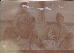 Foto 2 Jungen In Uniform - 1. WK - 6*4cm (43171) - Krieg, Militär