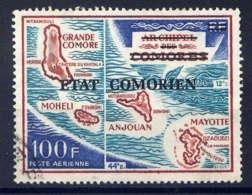 COMORES - A79° - CARTE DE L'ARCHIPEL - Comores (1975-...)