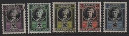 Luxembourg 1926 Caritas, Used MI 177/181 (Ref: 1572) - Luxembourg