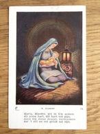 Moeder Maria Met Kind, R Joubert - Devotieprenten