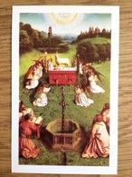H. Thomas Van Aquino, 750st Verjaardag, Sacramentsdag 1996 - Devotieprenten