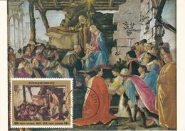Carte Maximum Peinture Togo 1971 Botticelli - Togo (1960-...)
