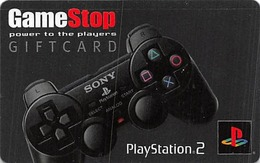 GameStop Gift Card - Play Station 2 - Cartes Cadeaux