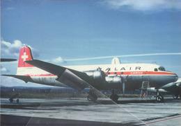 BALAIR CARGO McDonnell DC-4 HB-ILD Avion Aircraft Aviation Aiplane Swiss - 1946-....: Era Moderna