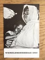 Wereld - Missiedag 1962, Missieactie Den Haag - Devotieprenten