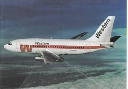 Western Airlines California Boeing B737-247 N4530W Aviation - 1946-....: Era Moderna