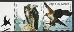"CHIPRE/ CYPRUS/ ZYPERN/ CHYPRE- EUROPA 2019 -NATIONAL BIRDS.-""AVES - BIRDS - VÖGEL -OISEAUX""-  SERIE 2 V. Del CARNET - 2019"