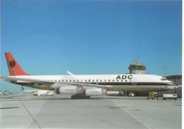 ADC Aviation Development Company Nigeria DC-8-62 N923R  Aviation At MHR - 1946-....: Era Moderna