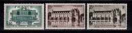 YV 609 à 611 N** Cote 2,80 Euros - Unused Stamps