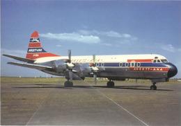Ansett - ANA Lockheed L-188A Electra VH-RMA  Aviation Airplane - 1946-....: Era Moderna