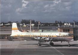 Pan American Grace Airways - Panagara - ( EL Pacifico ) MC Douglas DC-6B N6255C Aviation Airplane - 1946-....: Era Moderna