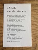 Gebed Voor De Priesters, Pater Koopman Nijmegen - Devotieprenten