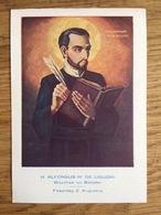H. Alfonsus M De Liguori Bisschop En Belijder Feestdag 2 Augustus - Devotieprenten