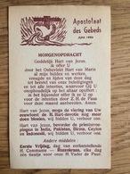 Apostolaat Des Gebeds Nijmegen 1956 - Devotieprenten