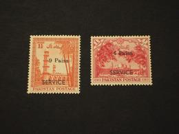 PAKISTAN - SERVIZIO - 1961 ALBERI 2 VALORI - NUOVI(++) - Pakistan