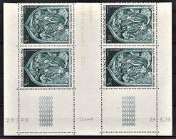 MONACO 1967 / 1973 / BLOC DE 4 PA / N° 96 -  NEUF** / COIN DE FEUILLE / DATE - Poste Aérienne