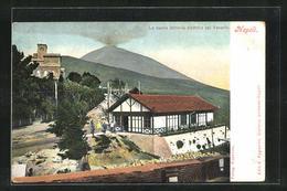 AK Napoli, La Nuova Ferrovia Elettrica Sul Vesuvio - Cartoline
